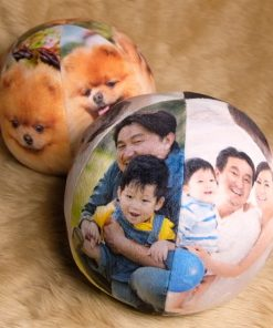 Pillow Balls - Fur Balls - Customized Basketball Pillow