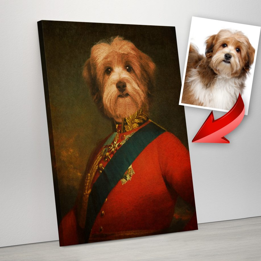 Royal Pet Portraits on Canvas