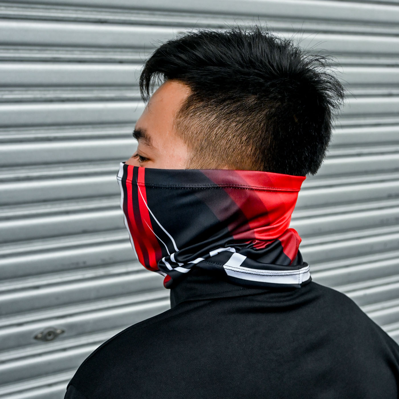 Customized Neck Gaiter and Compression Arm Sleeves