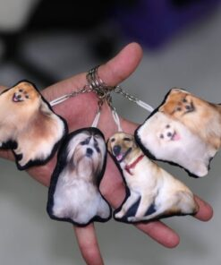 Mini Pet Pillow Keychain