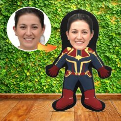 Mini Me Human Doll - Captain Marvel