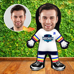 Mini Me Human Doll - Hockey Player
