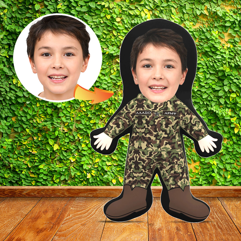 Mini Me Human Doll - Army 1